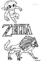 Imprimer le coloriage : Zelda, numéro b3103f1f