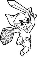 Imprimer le coloriage : Zelda, numéro cbf04c2b