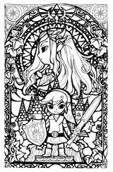 Imprimer le coloriage : Zelda, numéro ccd7f772
