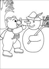 Imprimer le coloriage : Petit Ours brun, numéro 14877