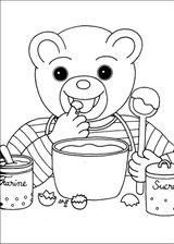 Imprimer le coloriage : Petit Ours brun, numéro 14879