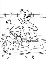 Imprimer le coloriage : Petit Ours brun, numéro 14880