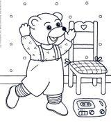 Imprimer le dessin en couleurs : Petit Ours brun, numéro 14891