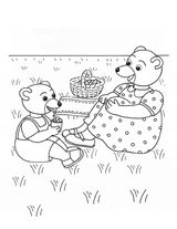 Imprimer le coloriage : Petit Ours brun, numéro 1789