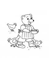 Imprimer le coloriage : Petit Ours brun, numéro 1790