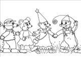 Imprimer le dessin en couleurs : Petit Ours brun, numéro 231449