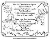 Imprimer le coloriage : Petit Ours brun, numéro 760019