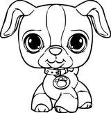 Imprimer le coloriage : Petshop, numéro ed710153
