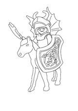 Imprimer le coloriage : Personnages-celebres - Playmobil numéro 28880