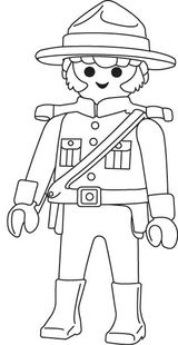 Imprimer le coloriage : Personnages-celebres - Playmobil numéro 28883