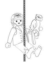 Imprimer le coloriage : Playmobil, numéro 29522