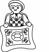 Imprimer le coloriage : Playmobil, numéro 29528