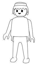 Imprimer le coloriage : Playmobil, numéro 346777