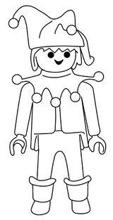 Imprimer le coloriage : Playmobil, numéro 410180