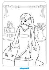 Imprimer le coloriage : Playmobil, numéro 43dedf48