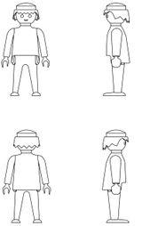 Imprimer le coloriage : Personnages-celebres - Playmobil numéro 66264