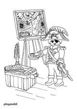 Imprimer le coloriage : Playmobil, numéro 66286