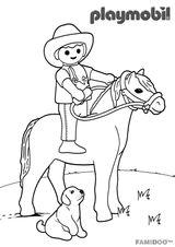 Imprimer le coloriage : Playmobil, numéro 673424