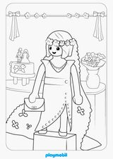 Coloriage Playmobil Foot.Coloriages A Imprimer Playmobil Numero 56990