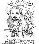 Imprimer le coloriage : Star Wars, numéro 16576