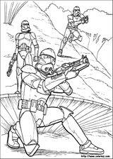 Imprimer le coloriage : Star Wars, numéro 29079