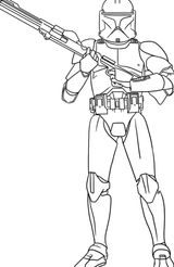 Imprimer le coloriage : Star Wars, numéro 29082