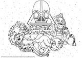 Imprimer le coloriage : Star Wars, numéro 341453