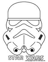 Imprimer le coloriage : Star Wars, numéro 4492