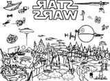 Imprimer le coloriage : Star Wars, numéro 51f81d7d