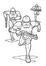 Imprimer le coloriage : Star Wars, numéro 7a47ce38