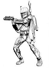 Imprimer le coloriage : Star Wars, numéro 842ac3cb