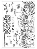 Imprimer le coloriage : Star Wars, numéro 8558