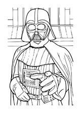 Imprimer le coloriage : Star Wars, numéro d924fadf