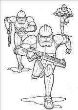 Imprimer le coloriage : Star Wars, numéro e805450e