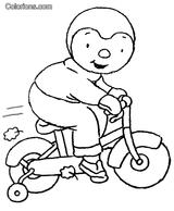 Imprimer le coloriage : T'Choupi, numéro 3054