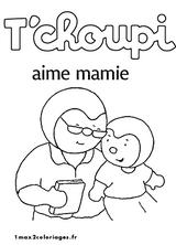 Imprimer le coloriage : T'Choupi, numéro 755218