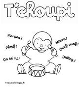 Imprimer le coloriage : T'Choupi, numéro 759887