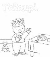 Imprimer le coloriage : T'Choupi, numéro 7a6aac30