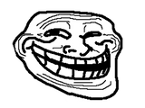Imprimer le coloriage : Troll face, numéro 28334