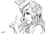Imprimer le coloriage : Bad Poker Face, numéro e085b678