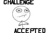 Imprimer le coloriage : Challenge accepted, numéro 226626