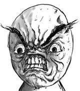 Imprimer le coloriage : Troll face fuuuu, numéro 131190