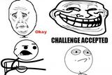 Imprimer le coloriage : Troll face lol, numéro 28357