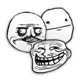 Imprimer le coloriage : Troll face me gusta numéro 28416
