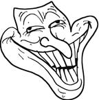 Imprimer le coloriage : Troll face me gusta, numéro 97de0f74