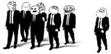 Imprimer le coloriage : Troll face poker, numéro 28403