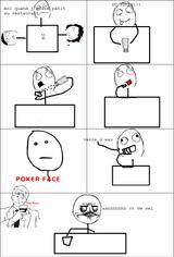Imprimer le coloriage : Troll face poker, numéro 29204