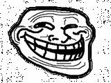 Imprimer le coloriage : Troll face poker, numéro 29207
