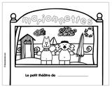 Imprimer le coloriage : Trotro, numéro 3047