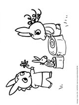 Imprimer le coloriage : Trotro, numéro 68a1512f